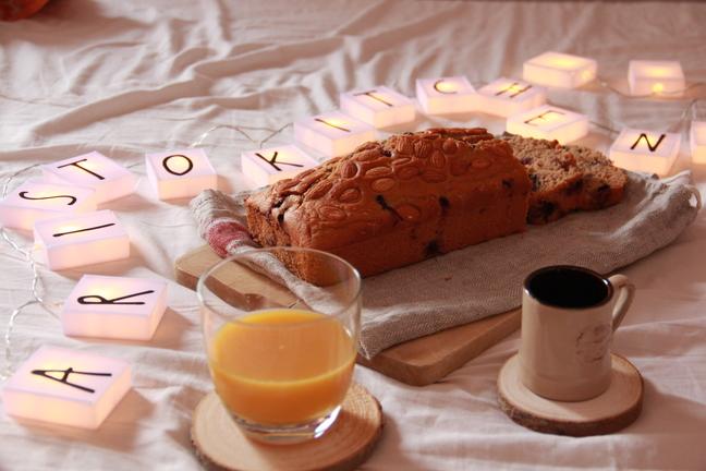 Facciamo colazione? Ricetta Plumcake mirtilli e mandorle
